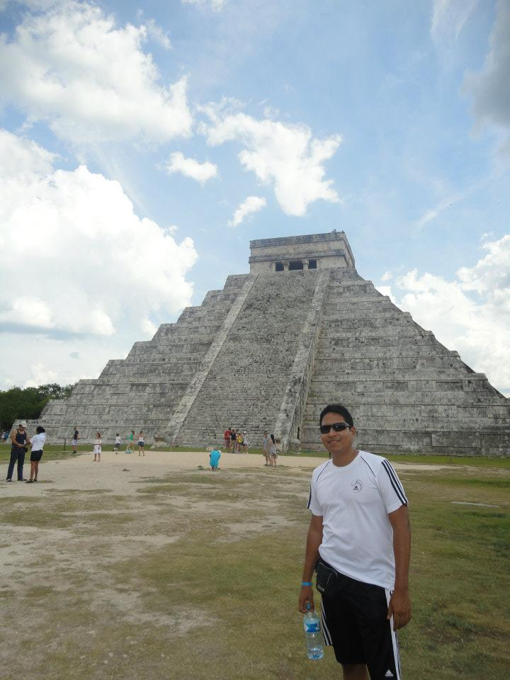 Guillo en Chichén Itzá